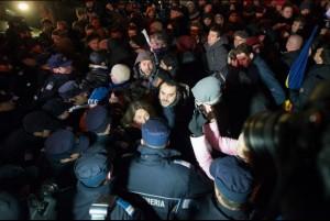 Big anti-corruption demonstration in Bucharest. Source: Globalpost