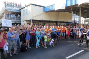 Workers in Slovenia protest against restructuring of the port of Koper. Photo Credit: Mitja Volčanšek.
