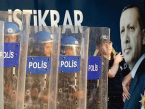 Erdoğan's police. Source: Kızıl Bayrak (Red Flag).