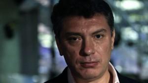 Russian opposition leader Boris Nemtsov