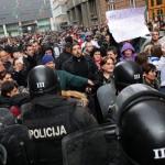 BOSNIA PROTEST SARAJEVO