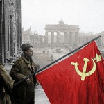 Soviet soldiers in Berlin, 1945: a legacy betrayed.