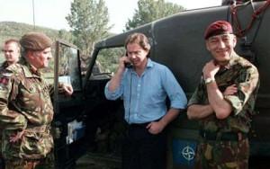 Blair in Kosovo